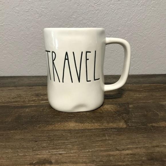Travel Dunn Large Rae Mug Coffee LettersNwt nwOPk80X